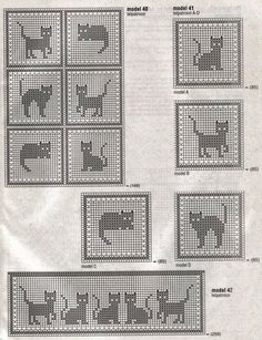 cat filet crochet?