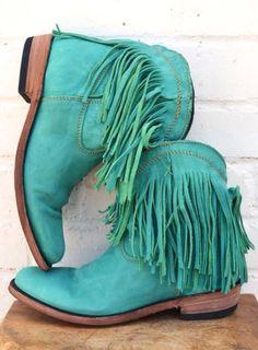 Turq boots! @Beth J J Dunnavant @Angie Wimberly Wimberly Sutton