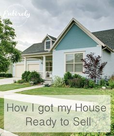 How to get your House Ready to Sell ~ Entirely Eventful Day