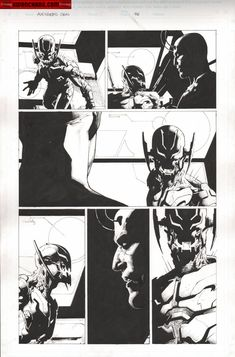 Comic Art For Sale from Kwan Chang, Avengers : Rage of Ultron Issue 01 Page 76 by Comic Artist(s) Jerome Opena