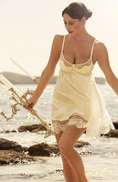 Shell Belle Couture Luxury Lingerie - Bridea - ideas for brides
