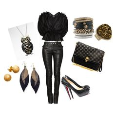 Rocker Chic, created by kacie-saylor on Polyvore polyvore