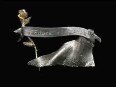 Failure is impossible pin of Susan B. Anthony's