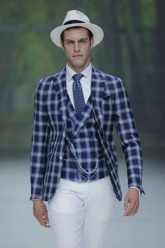 Male Fashion Trends: Ramón Sanjurjo Runway Show - Barcelona Bridal Week