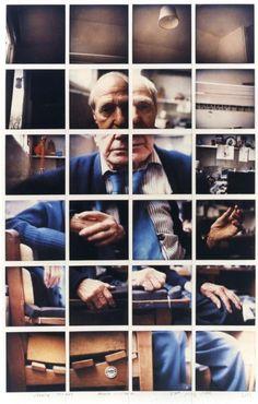 David Hockney - Henry Moore Much Hadham 23rd July 1982