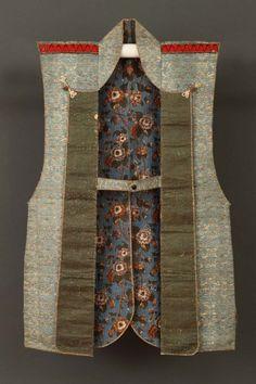 #MT503 Late 18th Century Blue Silk Jinbaori (Armour Surcoat)