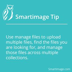 Harness the power of Manage Files #Smartimage #FileManagement