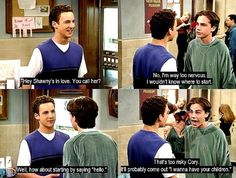 Boy Meets World - haha Shawn love this show Cory And Shawn, Haha, Girl Meets World, Boy Meets World Shawn, Boy Meets World Quotes, Boy Meets Girl, The Lone Ranger, Tv Quotes, Movie Quotes