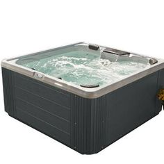 AquaRest Spas Elite 600 Plug and Play Hot Tub with Ozone and LED Waterfall