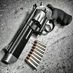 Still the king :) The Performance Center 627 V Comp MAG 8 Shot Revolver at Smith Wesson, Weapons Guns, Guns And Ammo, Rifles, Hand Cannon, By Any Means Necessary, Fire Powers, Cool Guns, Tactical Gear