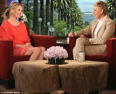 Pretty woman: Film star Julia Roberts admitted she has tattoos on the Ellen DeGeneres Show...