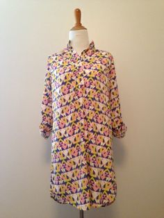 Lovely patterned Shirt Dress at C&P
