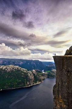 Pulpit Rock-- Norway