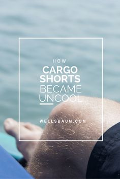 Since when did wearing cargo shorts become uncool in men's fashion? They even made Michael Jordan change out of his. Click to read more or pin and save for later!