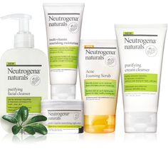Embrace Neutrogena® Naturals skincare products formulated with natural ingredients and no harsh chemicals. Shop our facial cleansers and purifying line. Natural Make Up, Natural Life, Natural Skin Care, Natural Beauty, Natural Facial Cleanser, Facial Cleansers, Acne Cream, Remove Acne, How To Get Rid Of Acne