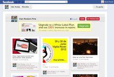 Si buscas que tu espacio en Facebook se asemeje de forma radical a Pinterest, una buena opción sería la aplicación PinView, creada por el diseñador Thomas Petersen.
