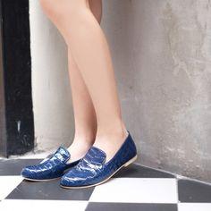 Phyllis Royal Blue    #madameflamingo #shoe #colorful