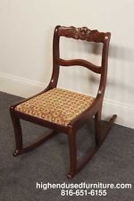 Duncan Phyfe Chair The Carved Rose Motif Is The Same As