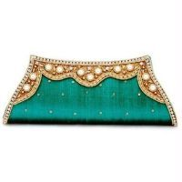 Accessorize Blossombox Jewelry with this exquisite purse--Moksh Designer Clutch Purse - S893