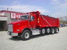 dump trucks for sale | NEW 2013 Kenworth Dump Truck T800 for sale