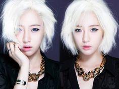 Eunjung goes platinum blonde for T-ara's new song 'What Should I Do' | allkpop.com