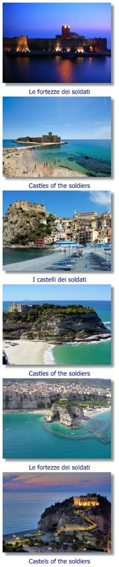 WHAT CALABRIA OFFERS, BUT NOT ALL OF THE CALABRIAN 1/4 :