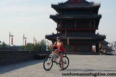 Cycling Xi'an City Wall