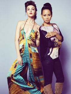 Thanks to some serious drive, Anya Ayoung-Chee won season 9 with designs like this printed, halter piece.