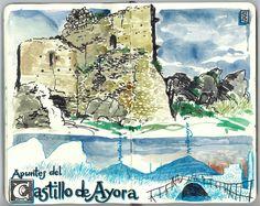 De vuelta con el cuaderno: Cuaderno Muaré (17. + Ayora) Apuntes del castillo