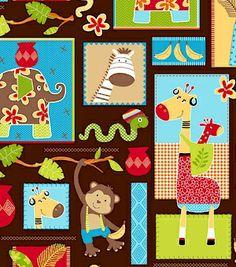 R37 Monkey Mates, Fabric Gallery, Marcus Fabrics