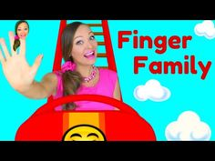 Finger Family Song - Daddy Finger Nursery Rhymes for Children, Kids and Toddlers - YouTube