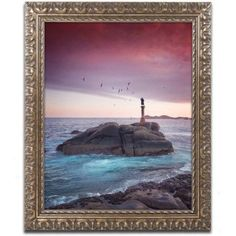 Trademark Fine Art Something's Missing Canvas Art by Philippe Sainte-Laudy, Gold Ornate Frame, Size: 16 x 20