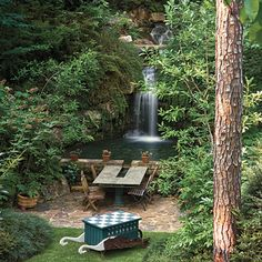 Waterfalls: Just the Beginning - Lakeside Garden Beauty | Southern Living