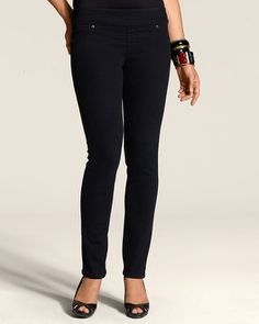 So Slimming By Chico's Black Jegging - Chico's - the best leggings ever!