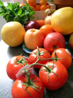 Preschool Fruits and Vegetables Lesson Plan