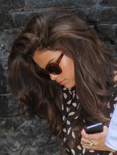 Selena Gomez has such beautiful hair. Her hair...perfect!
