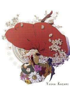 Yuuka Kazami  2010 digital Rooster, Digital, Illustration, Projects, Animals, Log Projects, Animaux, Illustrations, Animal
