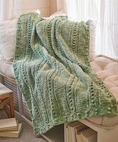 Comforting One-Color Throw