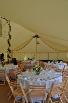 Traditional marquees for every taste...