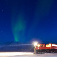 Best Places to See the Northern Lights - Svalbard, Norway