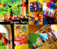 Kinder Days....: Summer Bucket List Series: Origami Party