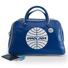 Pan Am Explorer Vintage-Style Travel Bag @Mica Ferrer!!! $89.00 LETS BUY! There's a messenger bag type pa.