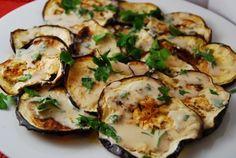 Roasted Eggplant with Tahini Sauce Recipe – 2 Points +