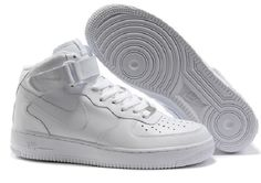 72df8c7c260 Shop for Nike Air Force 1 Mid Women ALl White Running Shoes