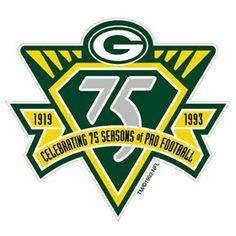 Green Bay Packers   Anniversary Logo