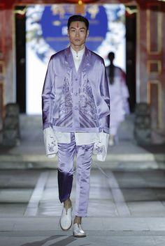 Male Fashion Trends: ZengFengfei Spring-Summer 2017 - Mercedes-Benz Fashion Week China