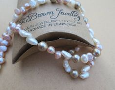 Check out this item in my Etsy shop https://www.etsy.com/uk/listing/155529250/freshwater-pearl-necklace-handmade