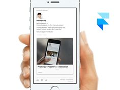 Paper fold interaction dribbble