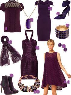 No Shrinking Violet: Color Love: Plum.