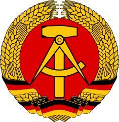 ドイツ民主共和国の国章(麦の穂と槌とコンパス)